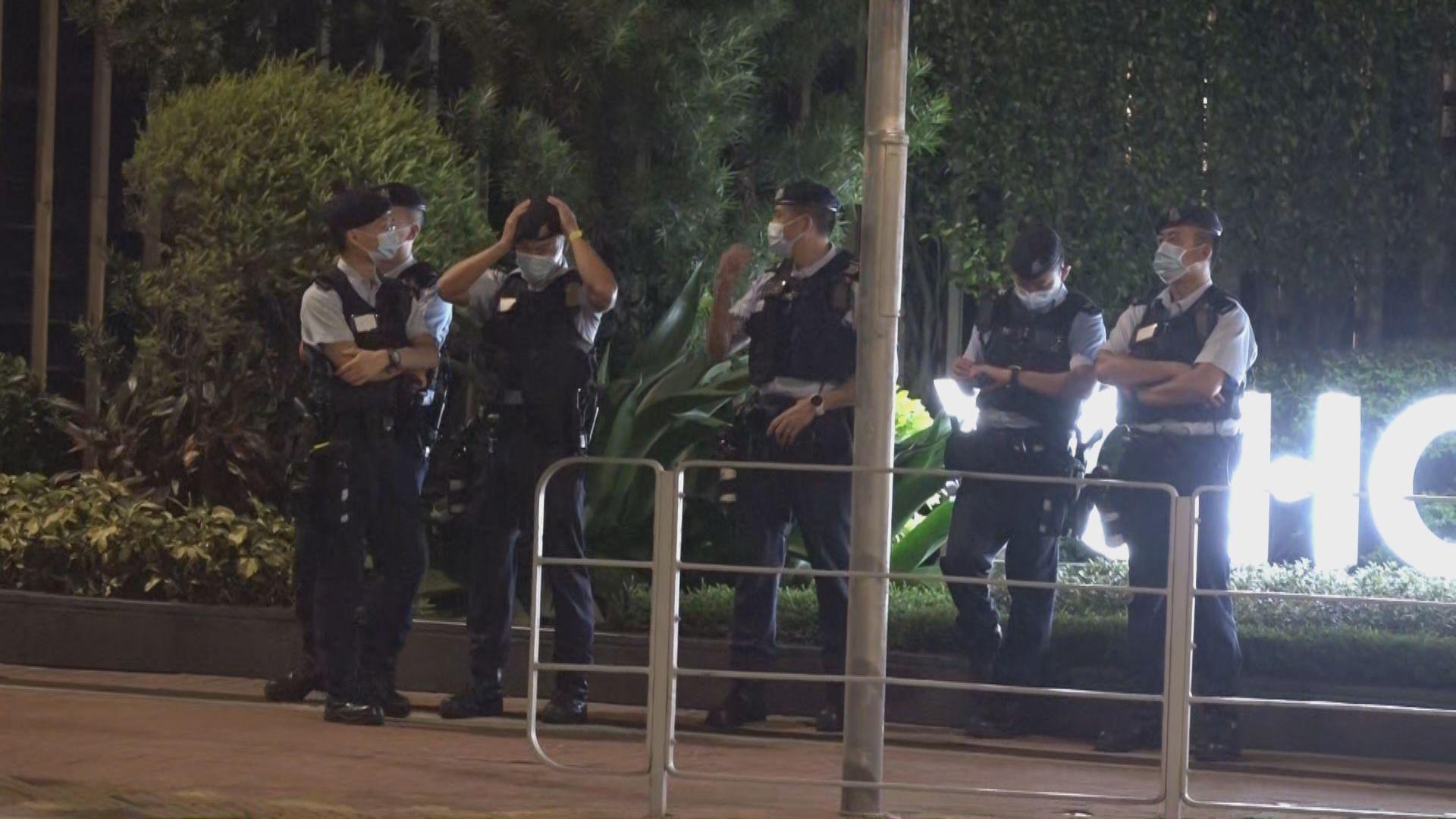 721事件兩周年 警方元朗加強布防
