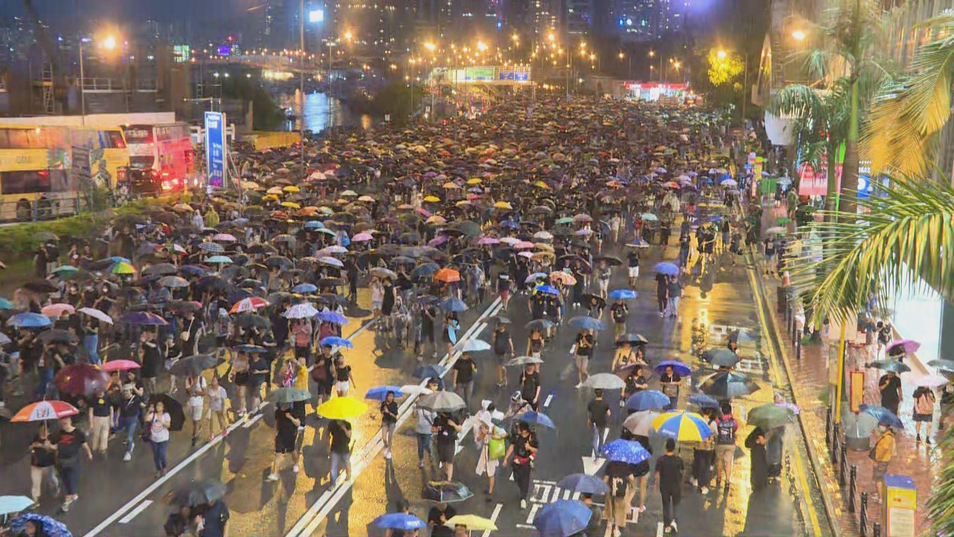 民陣:政府若仍不回應是鼓動市民將抗爭升級