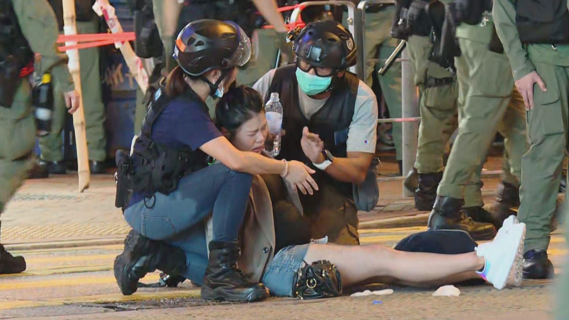 太子站831事件一周年 15人被捕逾170人獲發罰款告票
