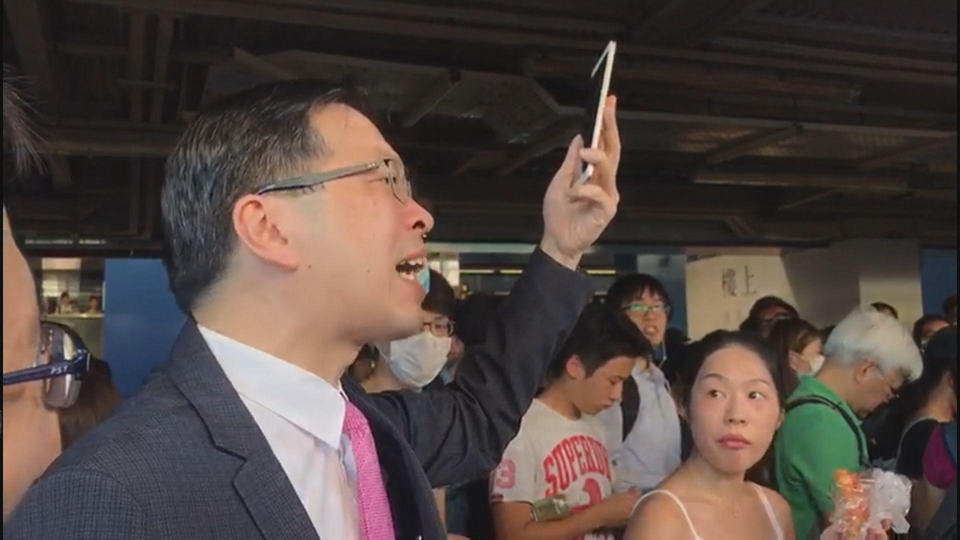 【港鐵不合作運動】有市民則不滿社會政治化