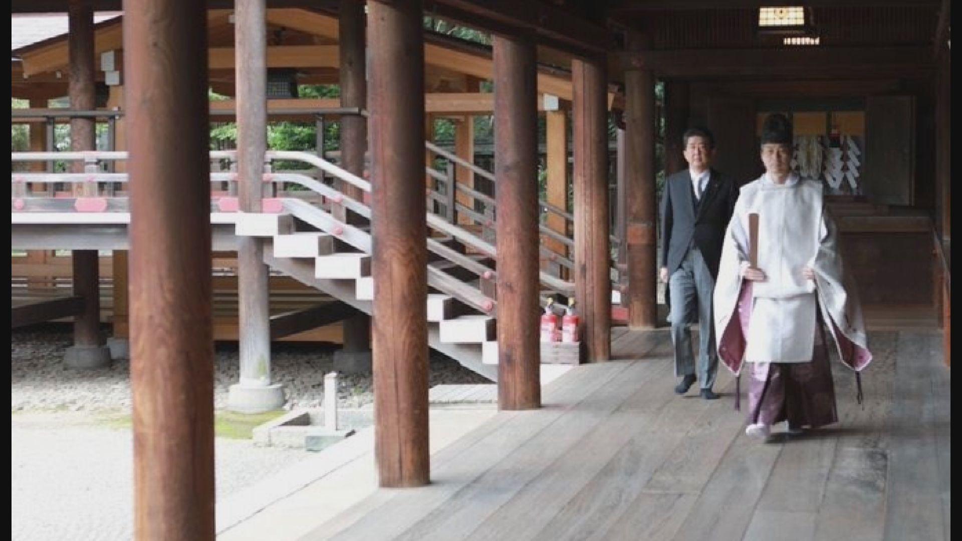 安倍晉三卸任日本首相後參拜靖國神社