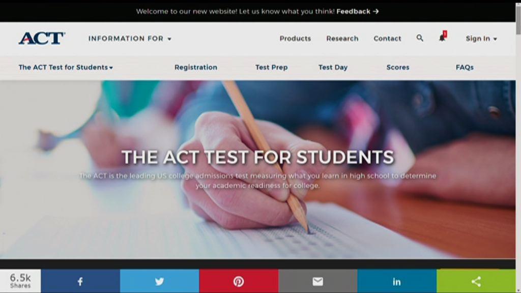 周六美國大學入學試個別考試取消