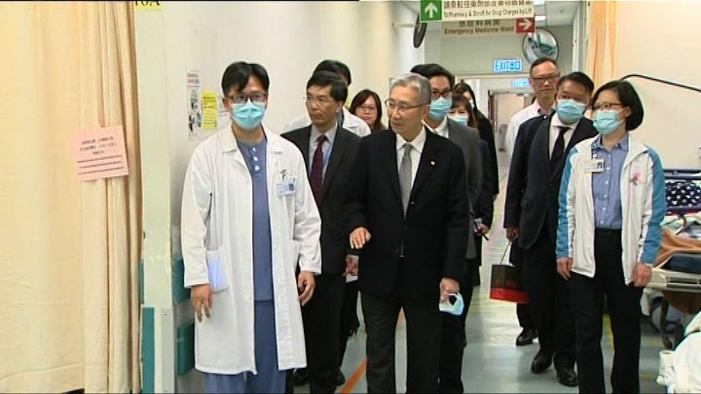 公立醫院爆滿 梁智仁:情況嚴峻