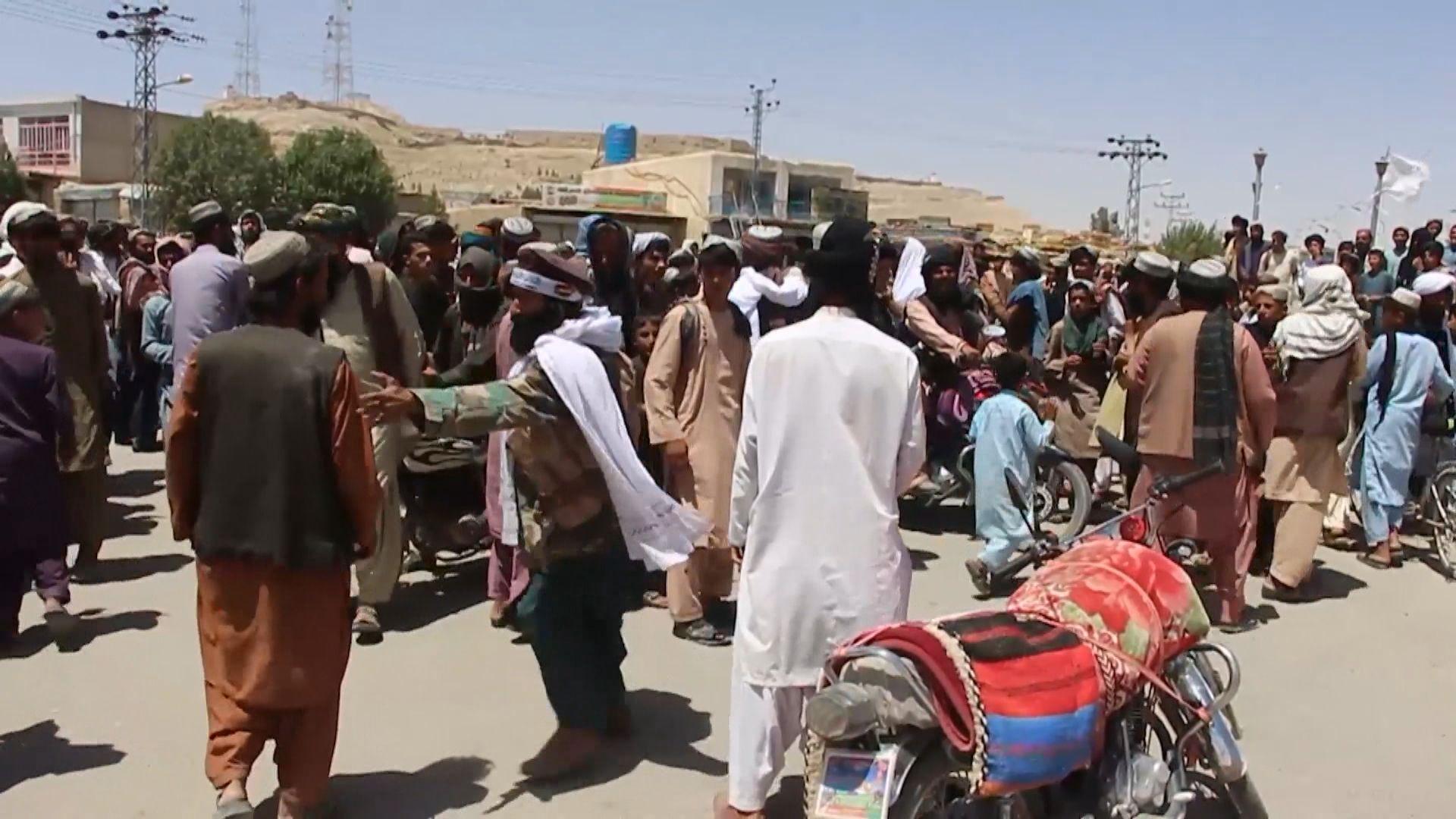 阿富汗北部全面失守塔利班正逼近首都喀布爾