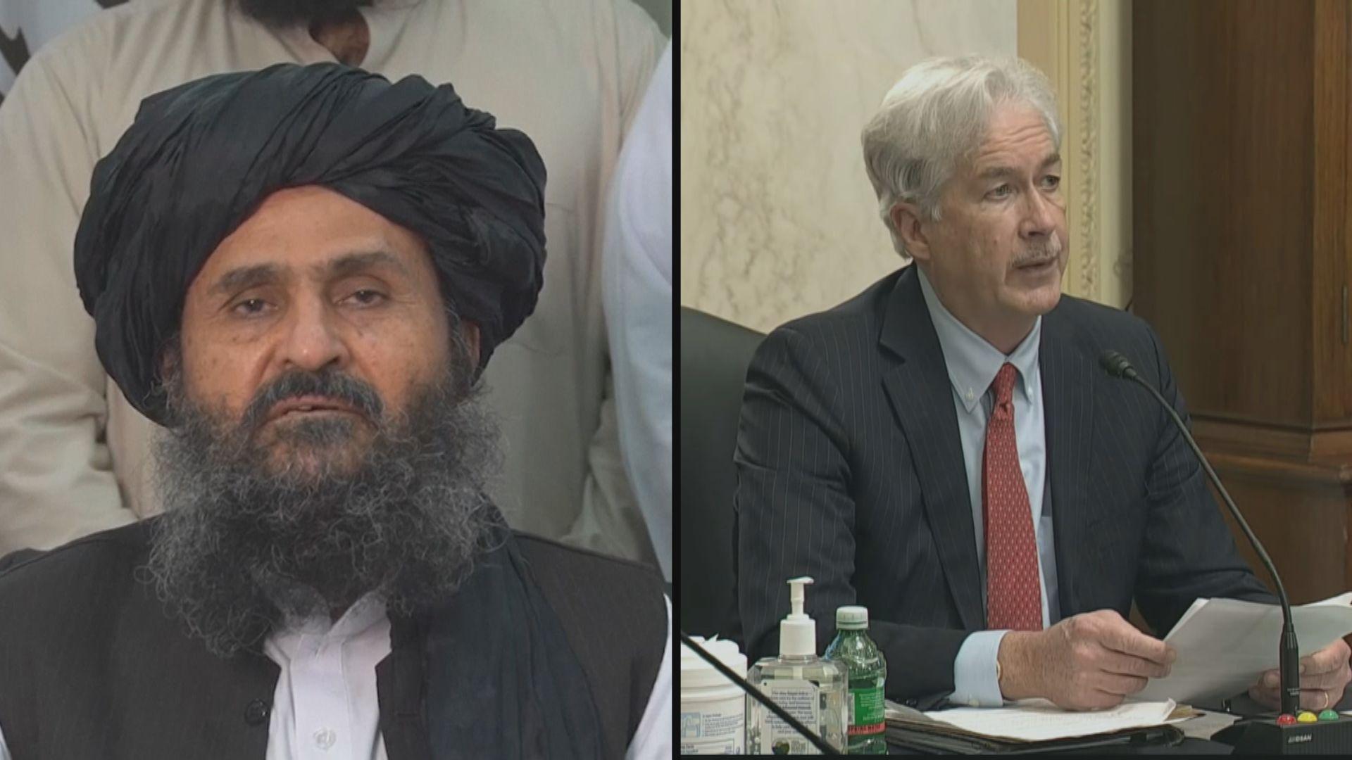 據報美中情局局長與塔利班領袖在喀布爾會晤