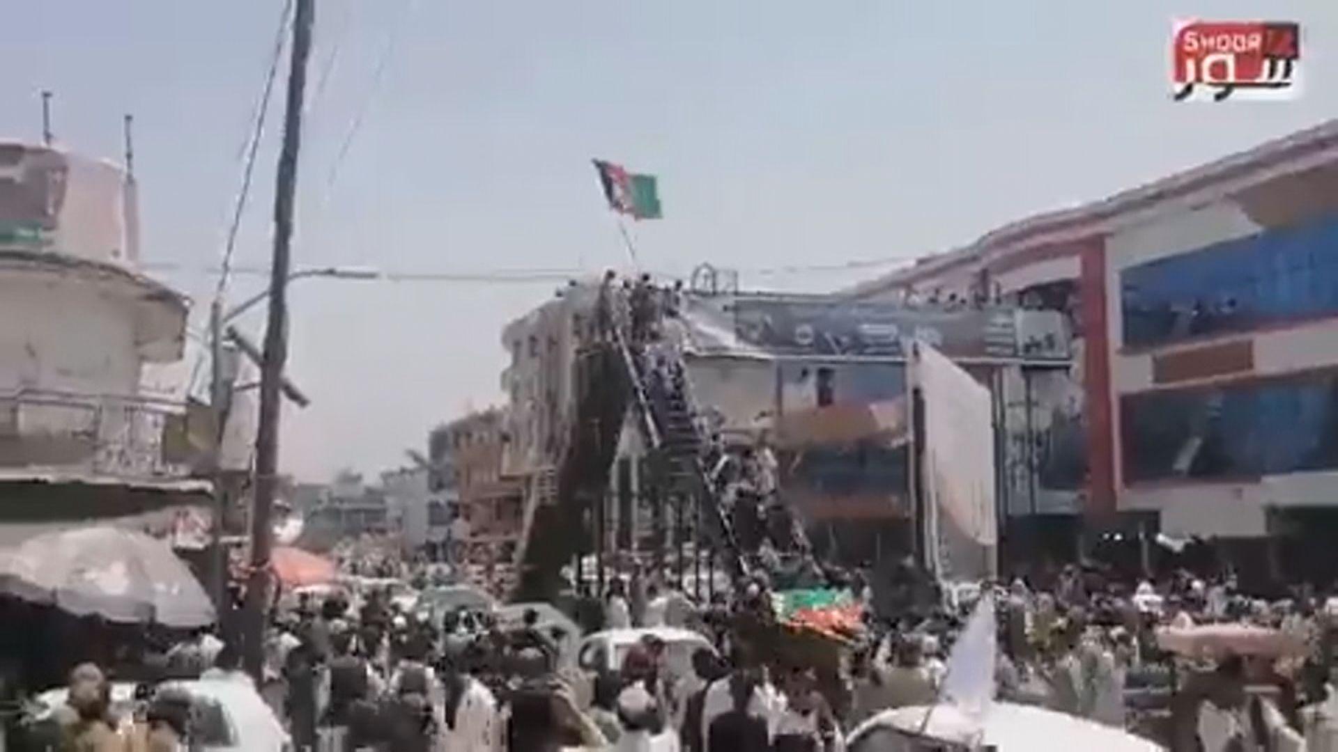 阿富汗多地有反塔利班示威 拜登稱不相信撤出可避免混亂