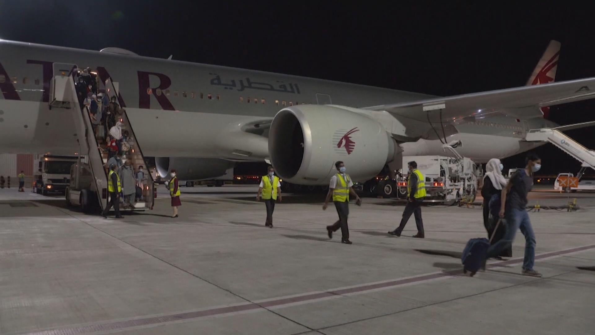 民航機離開喀布爾 乘客包括約二十名美國公民及綠卡者