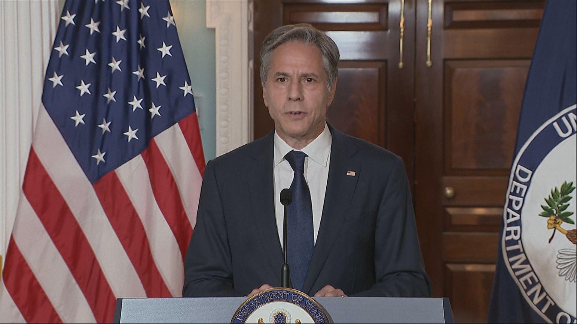 美國稱在重大國家利益前提下可跟阿富汗新政府合作