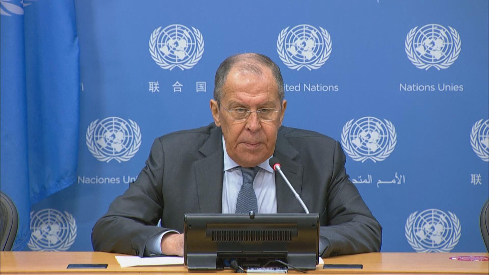 俄羅斯外長拉夫羅夫:阿富汗政治進程離不開塔利班合作
