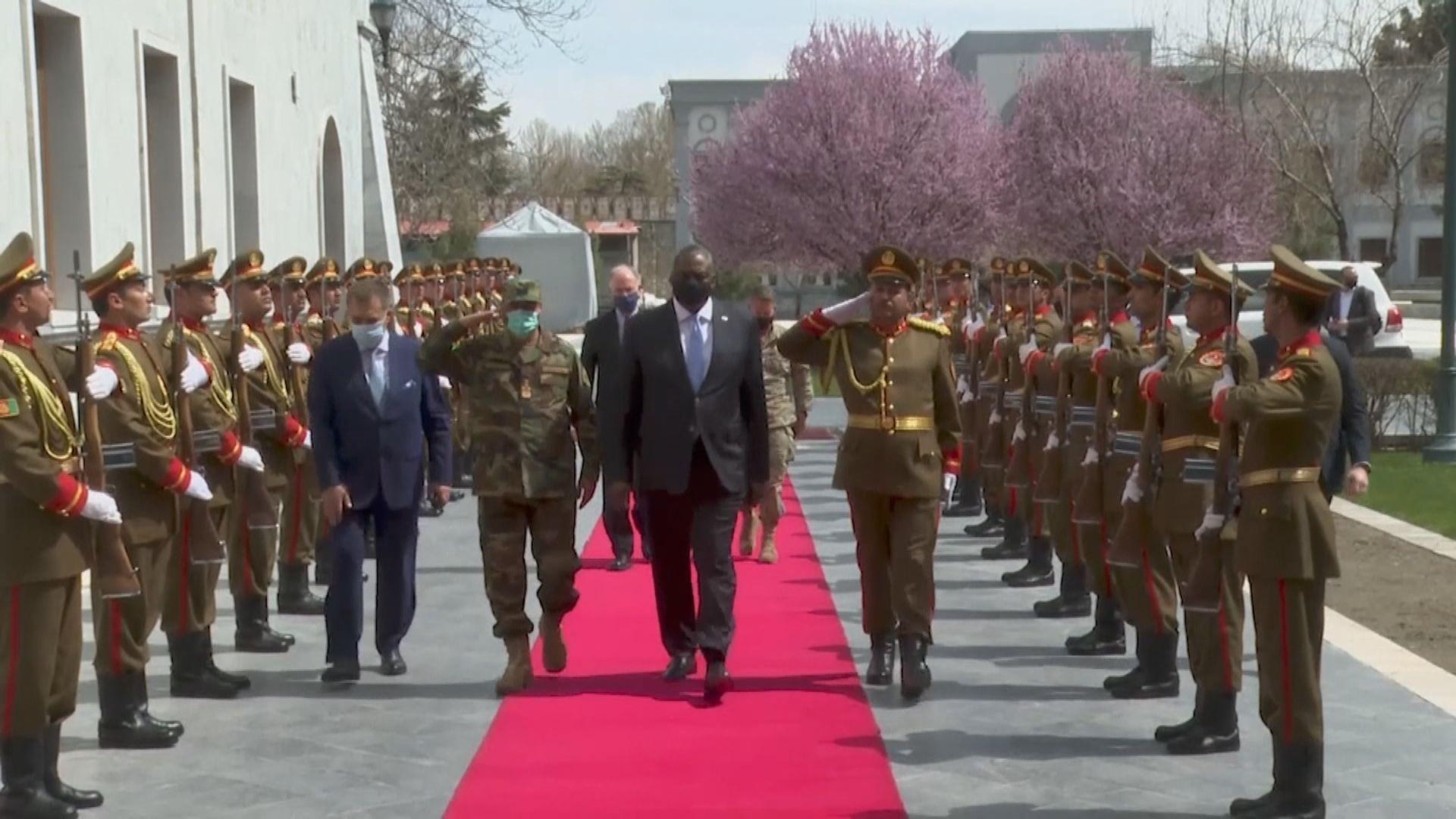 美國國防部長奧斯汀突訪阿富汗