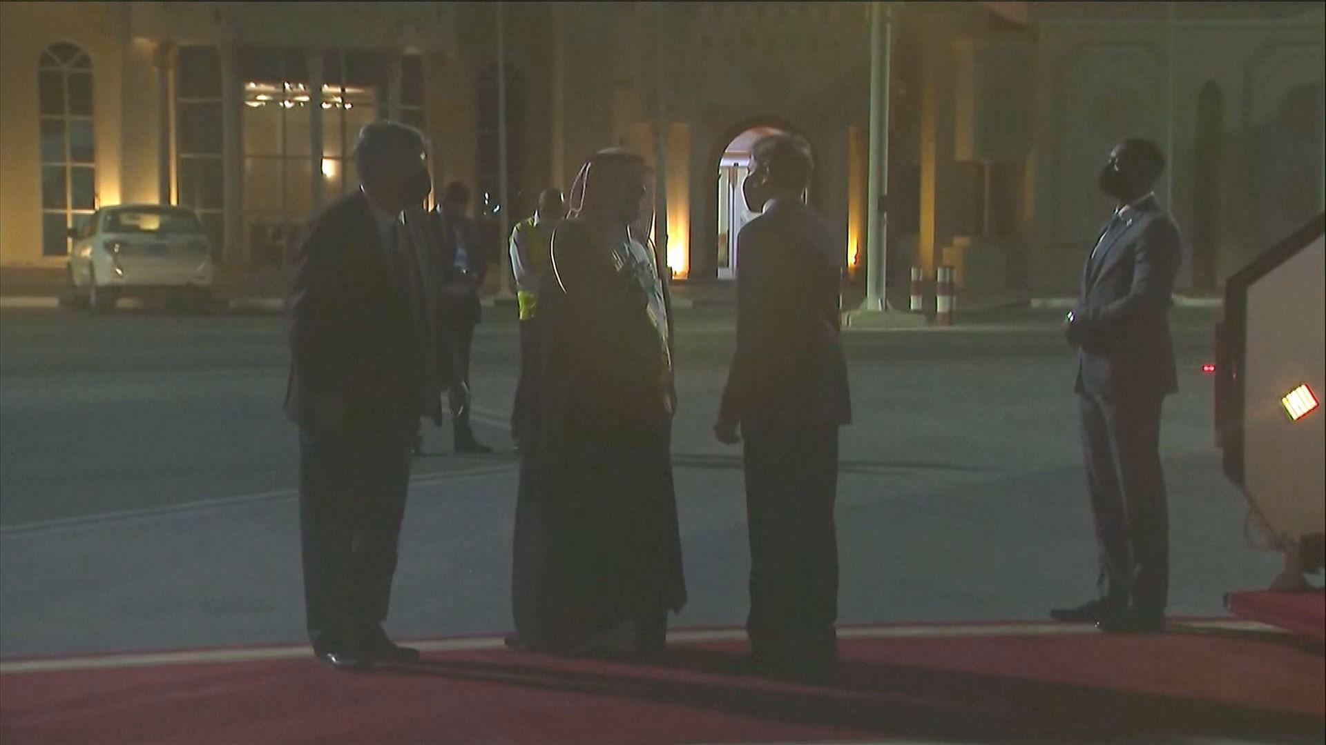 布林肯抵達卡塔爾討論阿富汗局勢