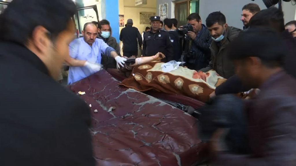 阿富汗連環炸彈襲擊最少40死