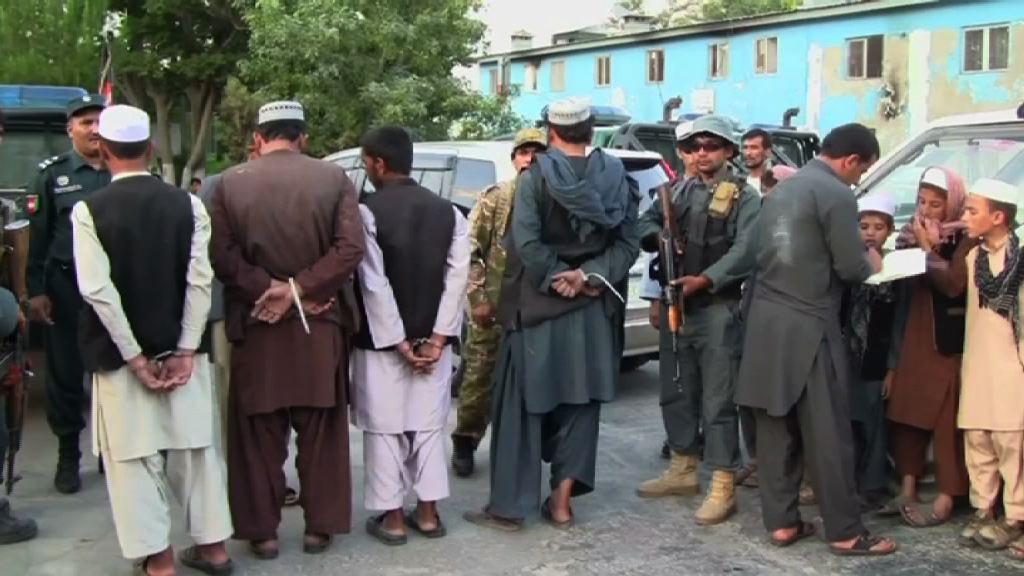阿富汗不法分子販運兒童情況嚴重