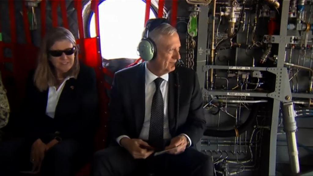 美國國防部長馬蒂斯突然到訪阿富汗