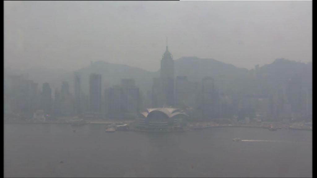 空氣質素健康指數風險料達嚴重水平