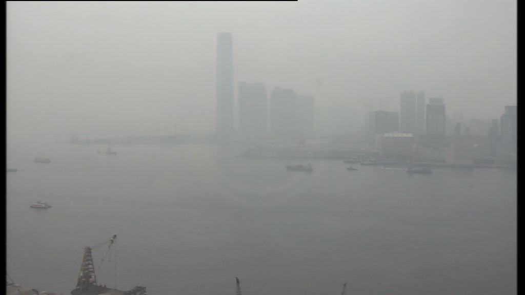 多區空氣污染健康風險達嚴重水平