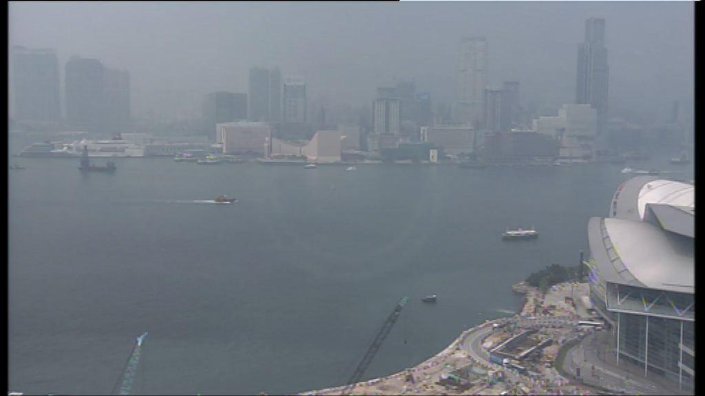 環保署料颱風登陸華南前空氣污染持續