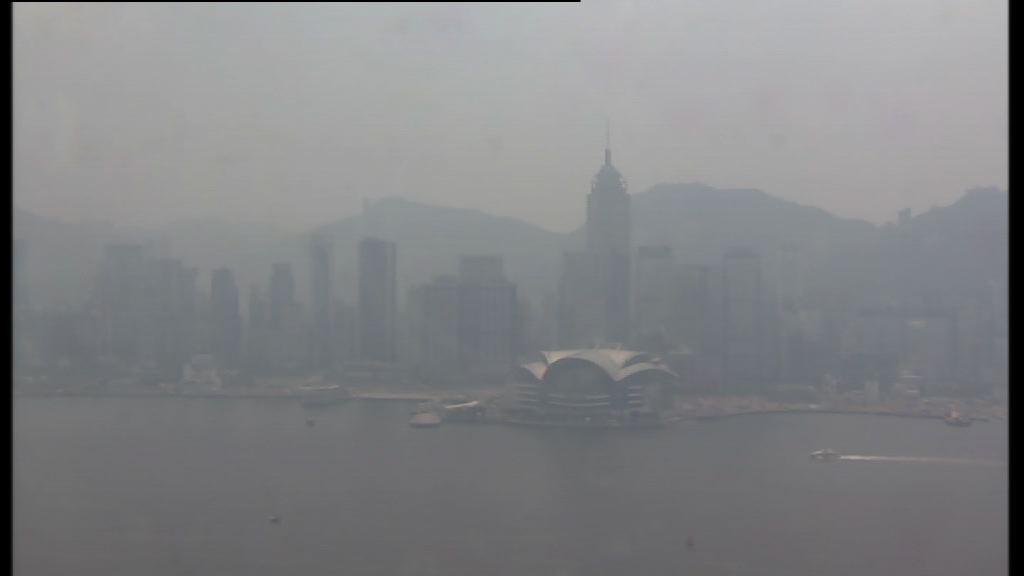 多區空氣質素健康指數風險達嚴重水平