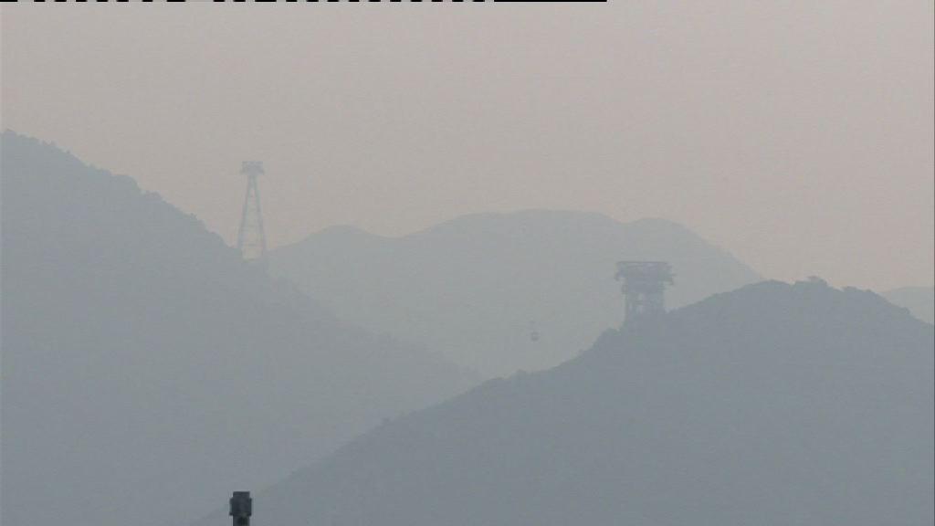 東涌空氣污染達嚴重水平