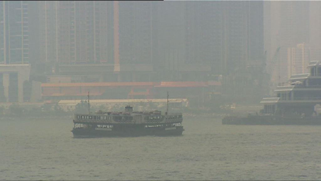 受颱風影響 多區空氣質素健康指數達10+