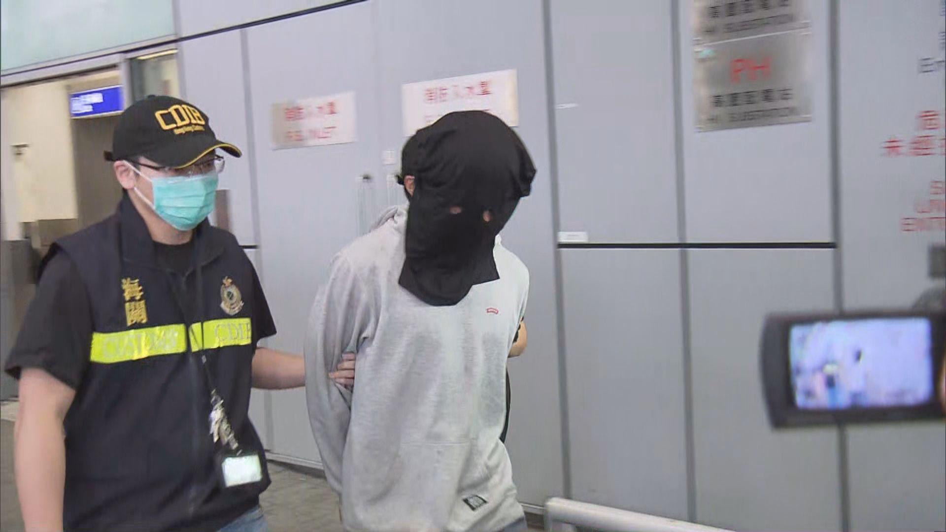 兩名男子由金邊運毒來港被捕 周四提堂