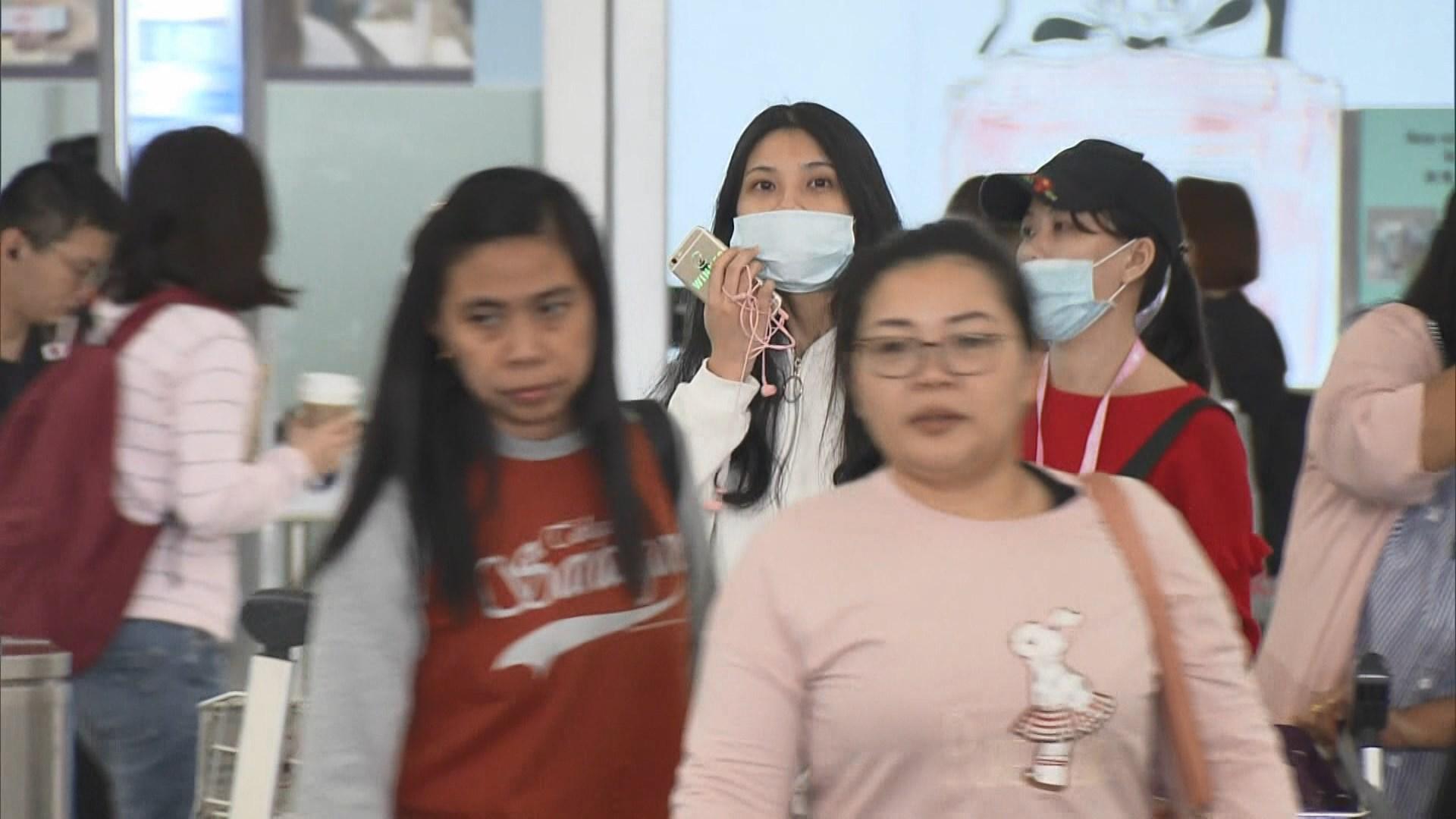 外遊市民擔心會在機場感染麻疹