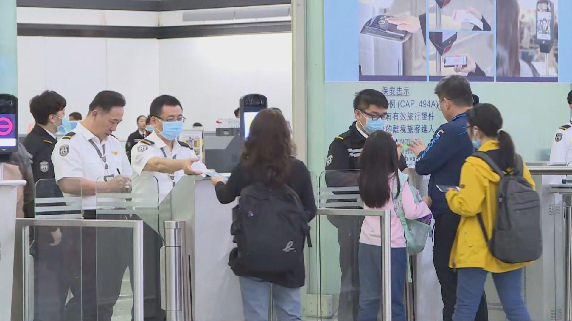 本港機場下周一起實施強制佩戴口罩措施