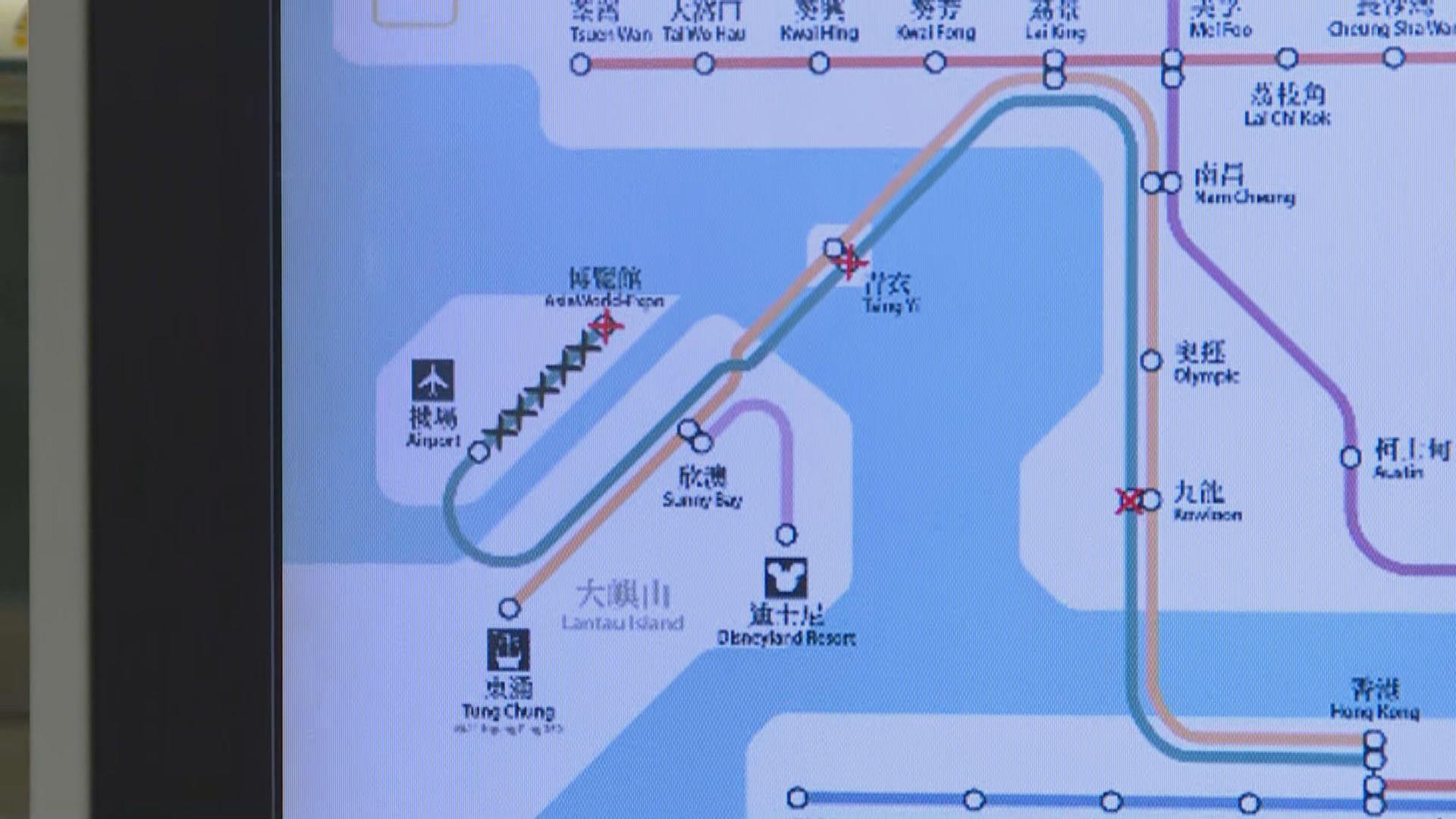 機鐵維持10分鐘一班來往香港至機場