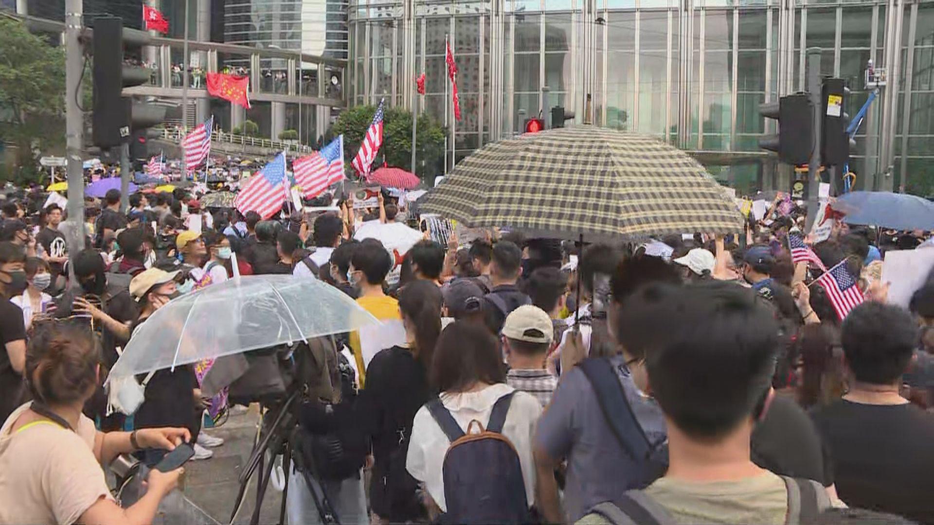 有市民盼透過美國影響力為香港爭取民主自治