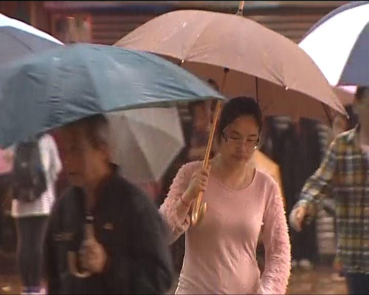 天文台:大雨或持續籲採取預防措施