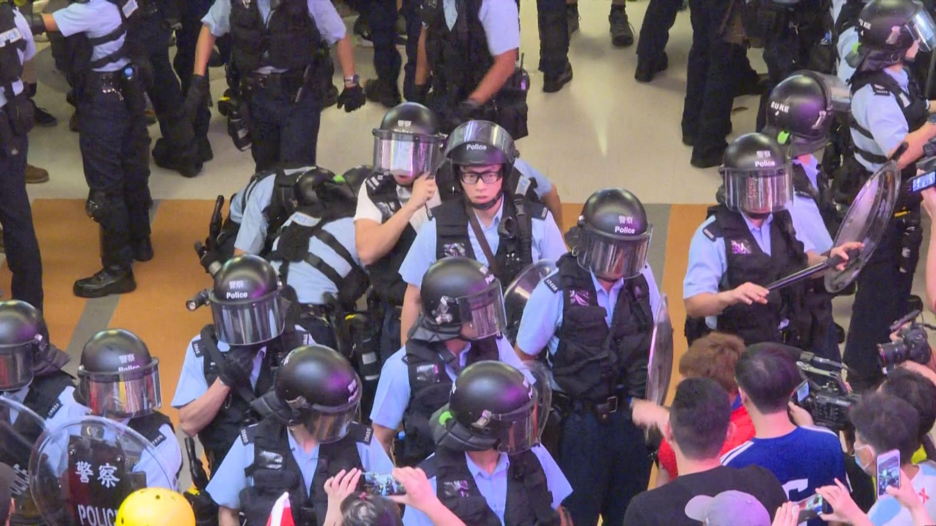 淘大商場多人被制服 有住戶批警方濫捕