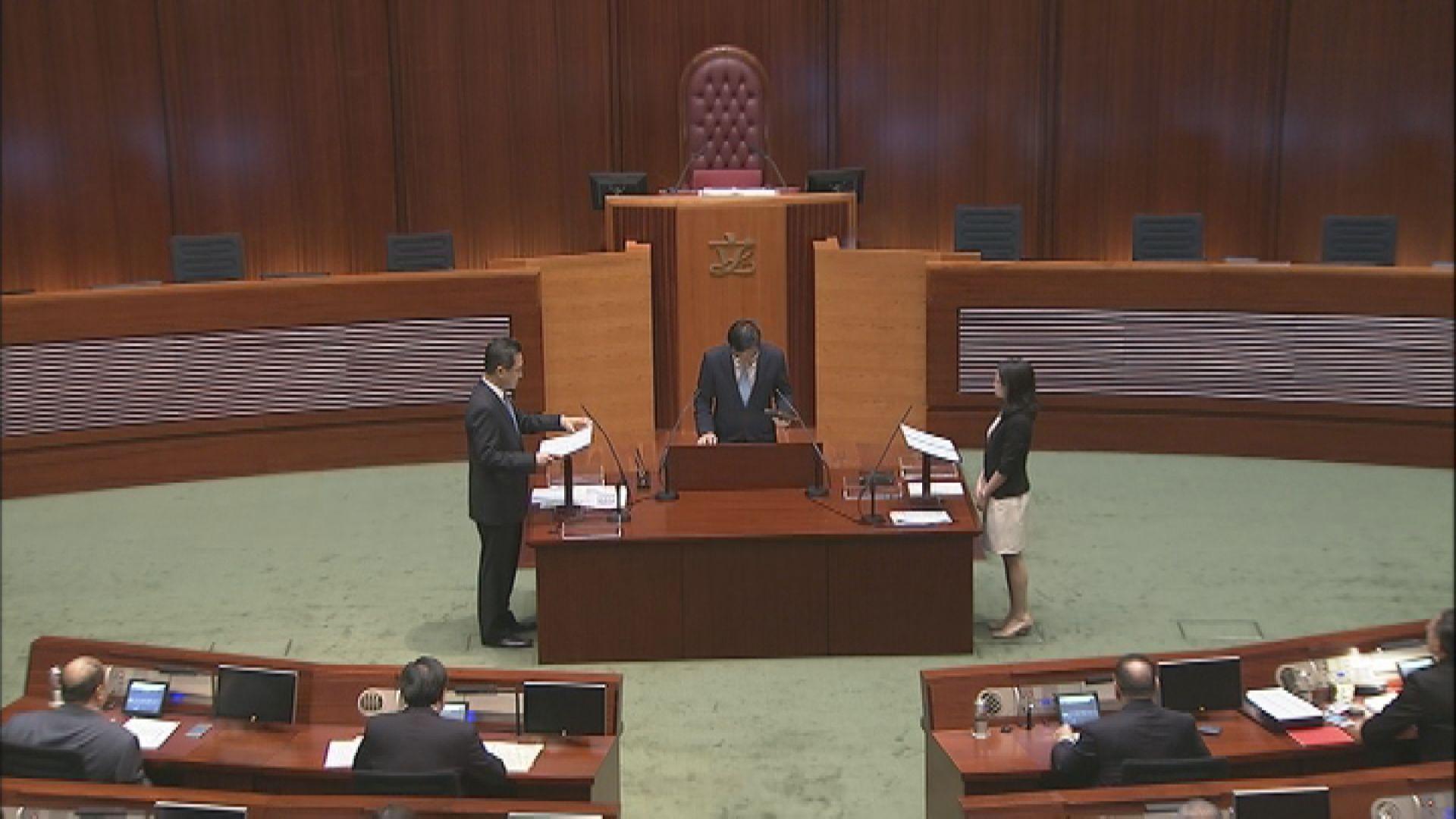 國歌法將規定立法會議員宣誓前奏國歌