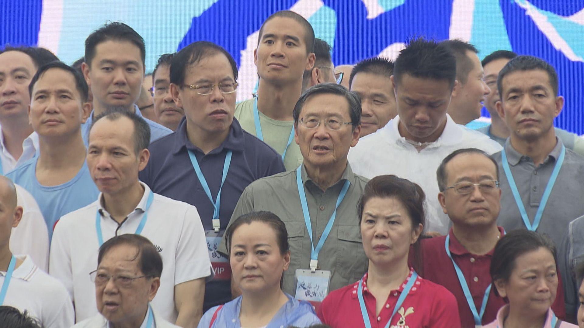 吳光正發聲明指示威者誤解他「撐警」表示遺憾