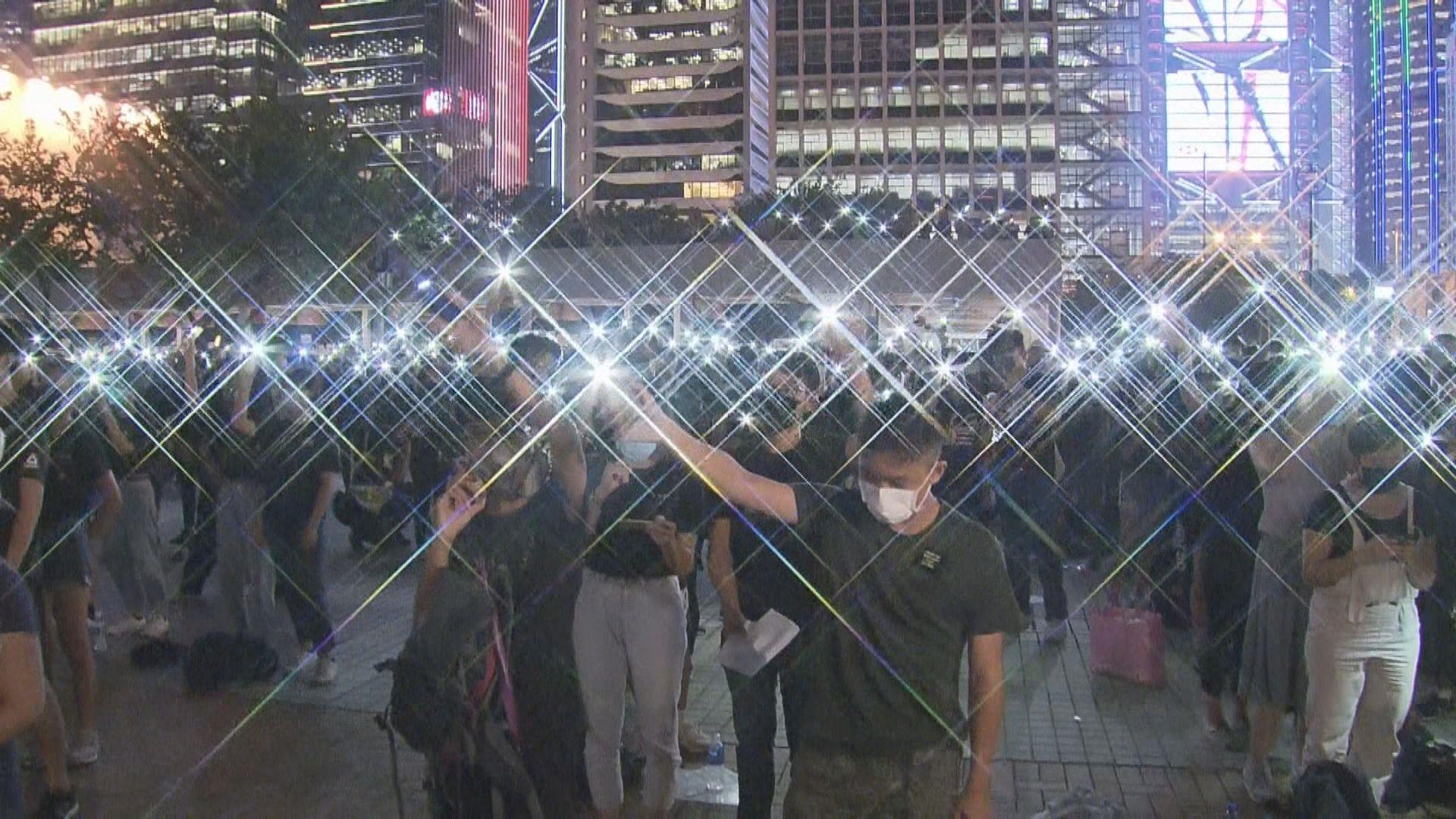 中學生反修例集會 發起人稱約三千人參與
