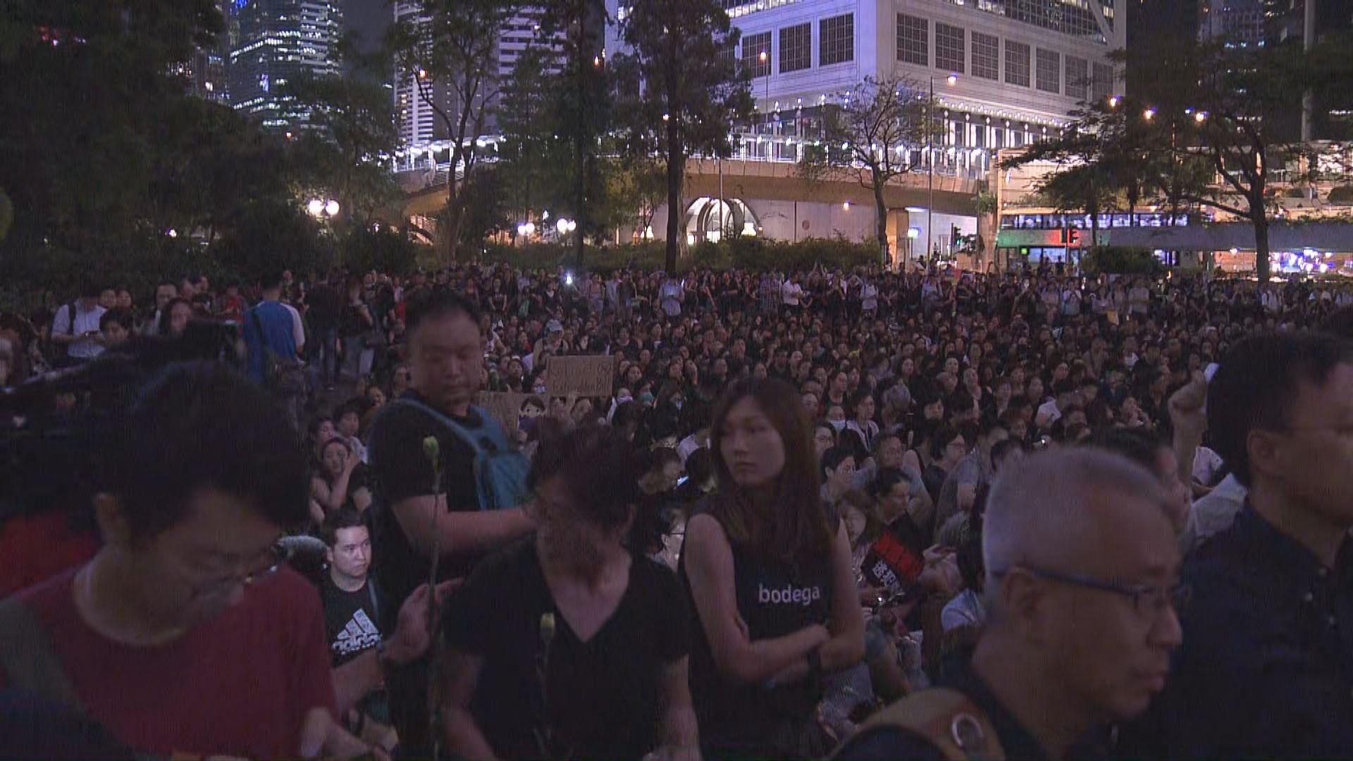 母親團體反修例集會稱六千人參與