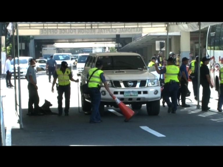 APEC會議場地加強保安