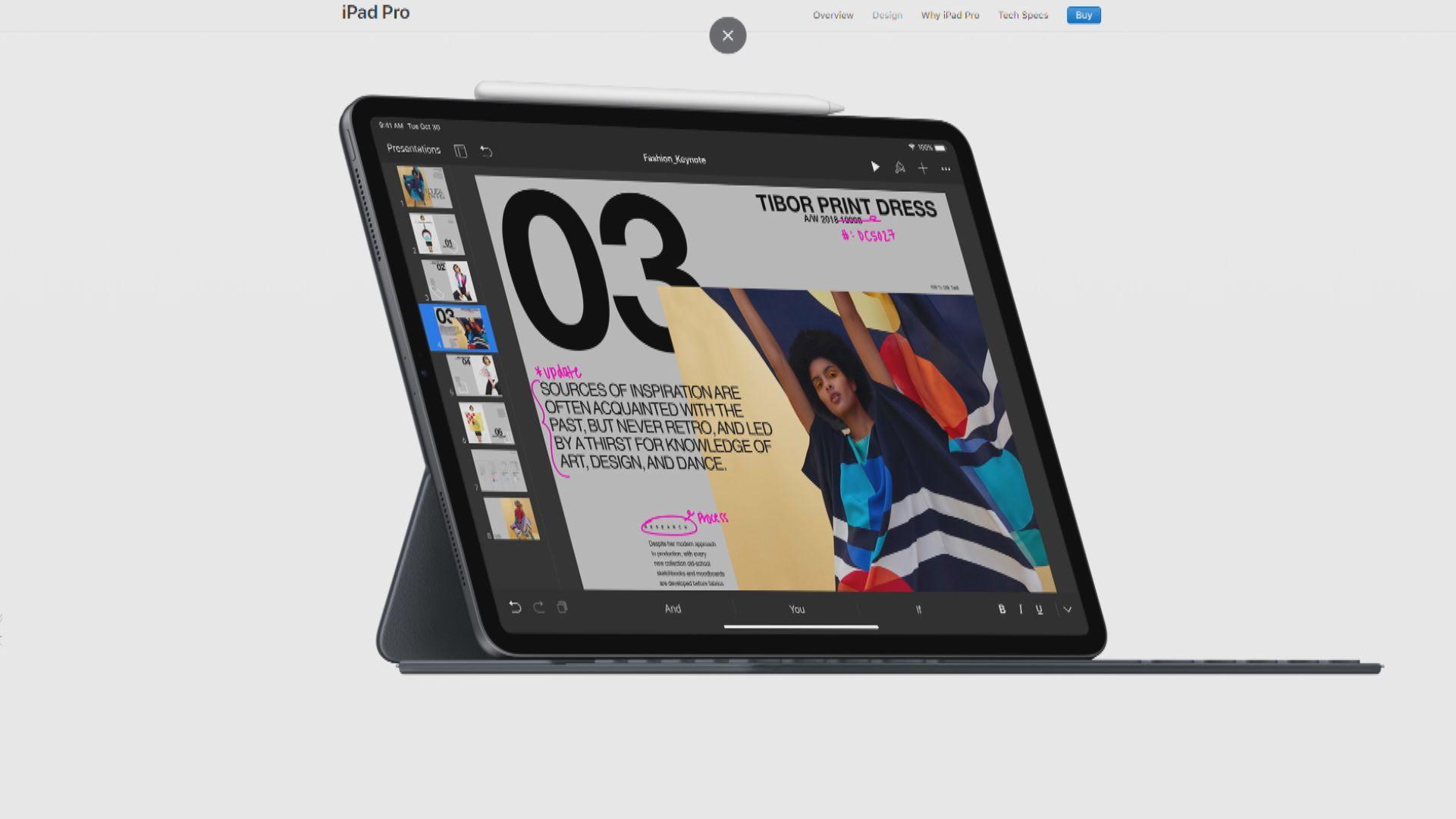 蘋果新iPad改用Face ID