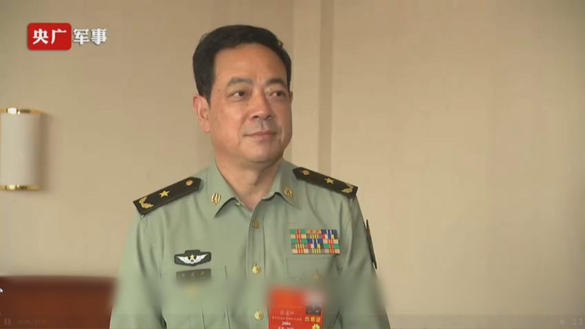 駐港部隊司令:香港國安法草案有利震懾分裂和外部勢力