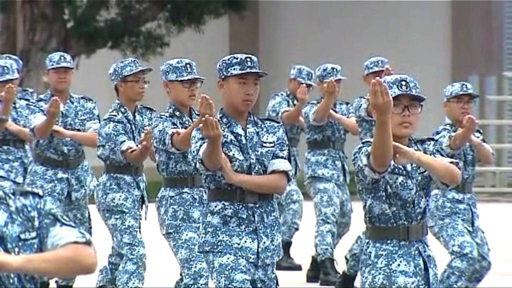 青少年軍事夏令營300學員結業