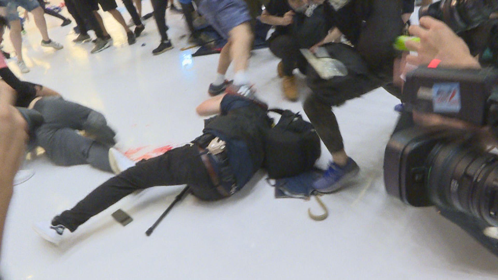 上月沙田警民衝突警再拘一人涉嫌傷人
