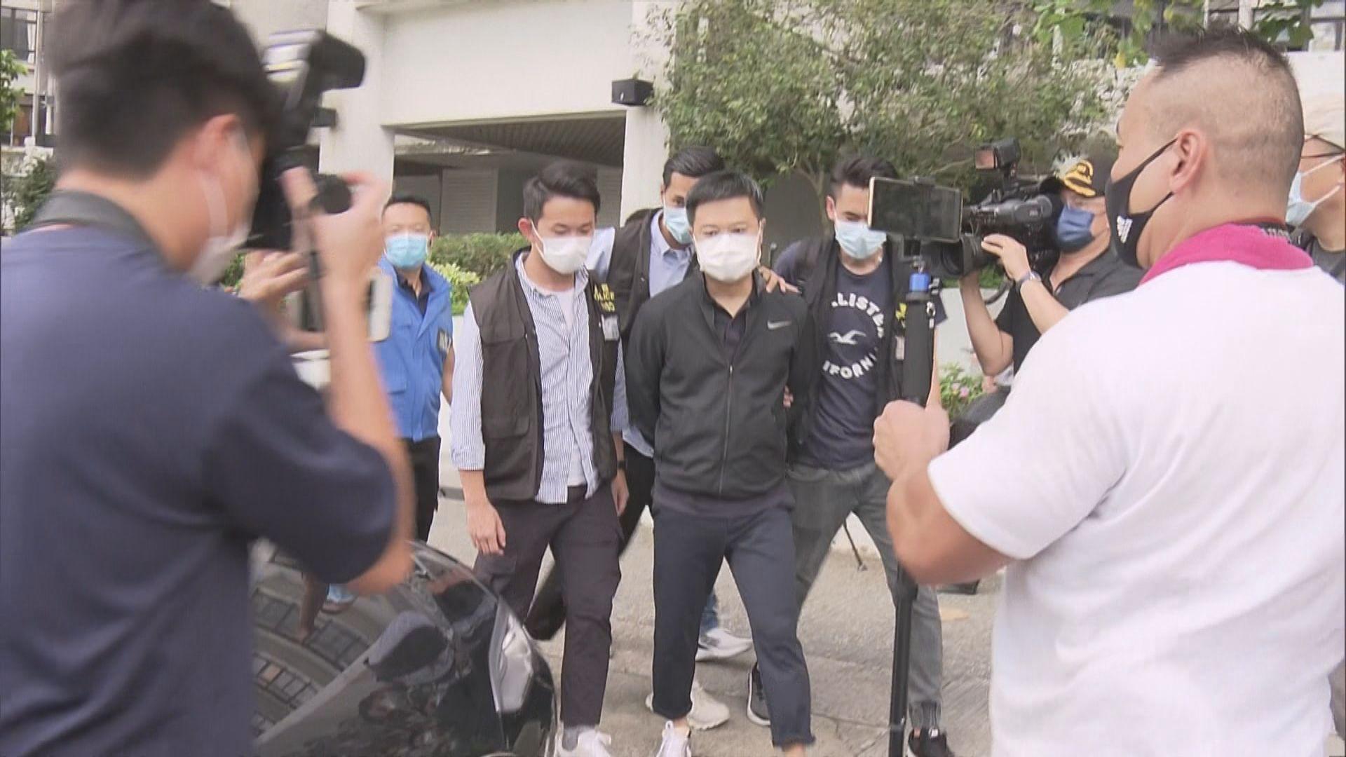 【搜蘋果日報】警拘五人涉違國安法 消息:壹傳媒張劍虹及蘋果羅偉光