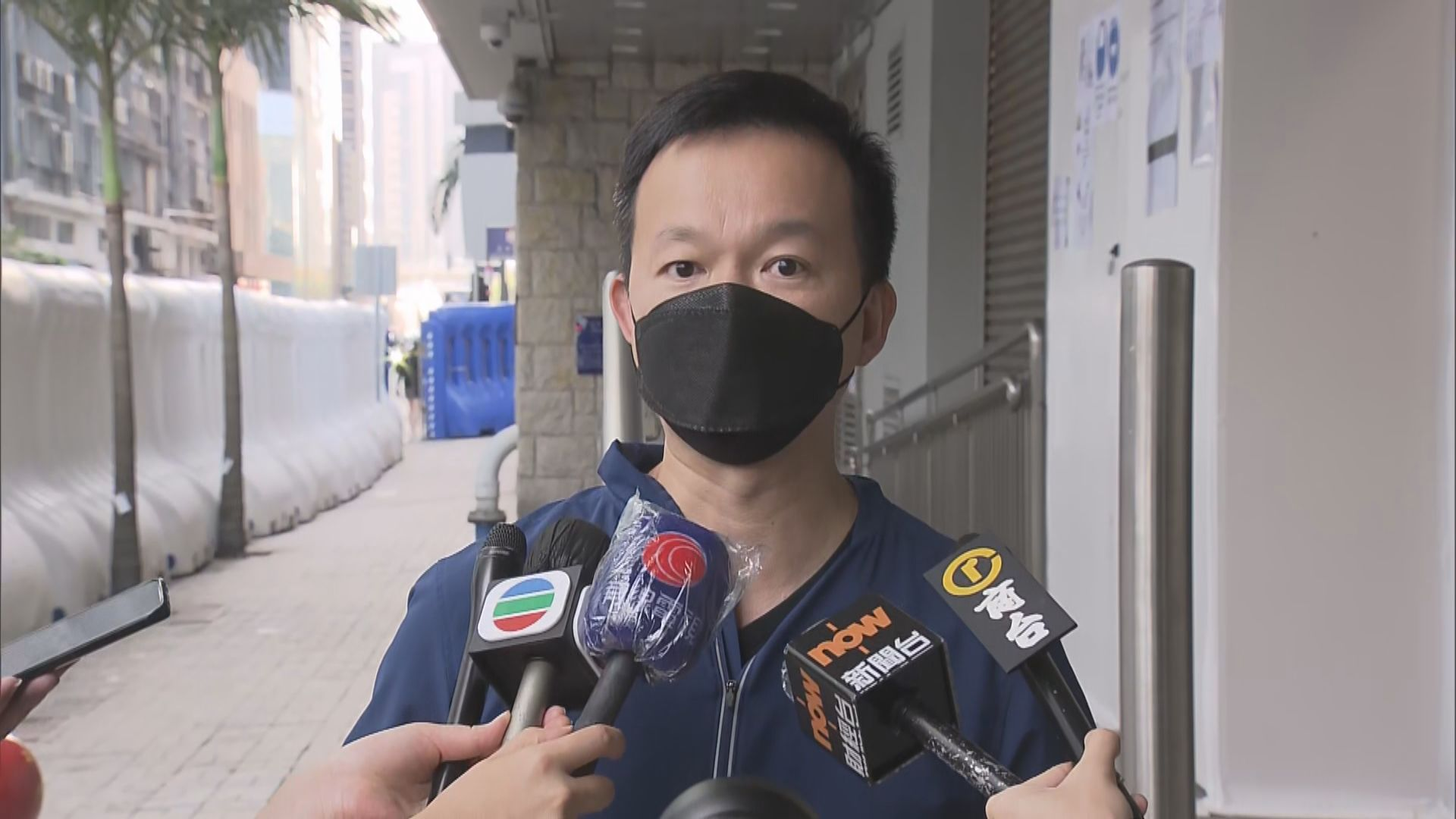 陳志全稱錄口供期間 警播放李慧琼以權力法警告議員片段