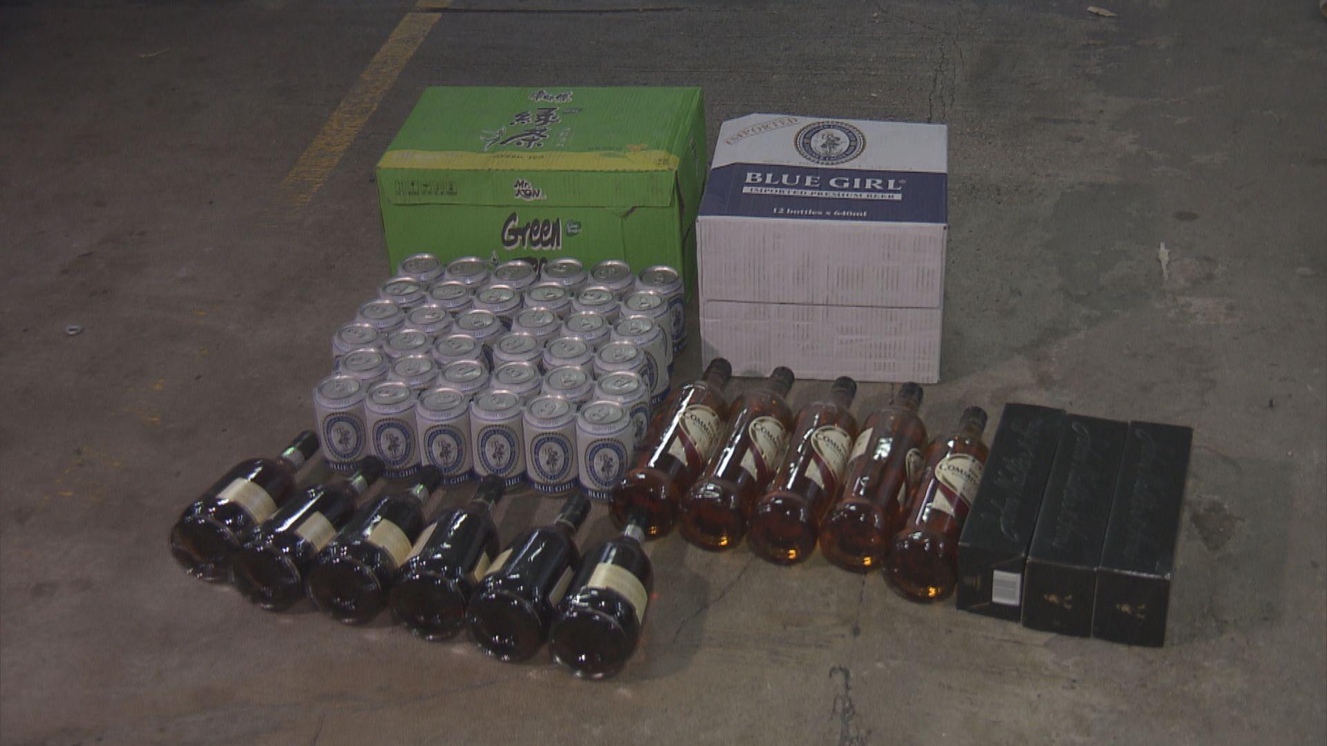 警方葵涌工廈破無牌酒吧拘四十八男女