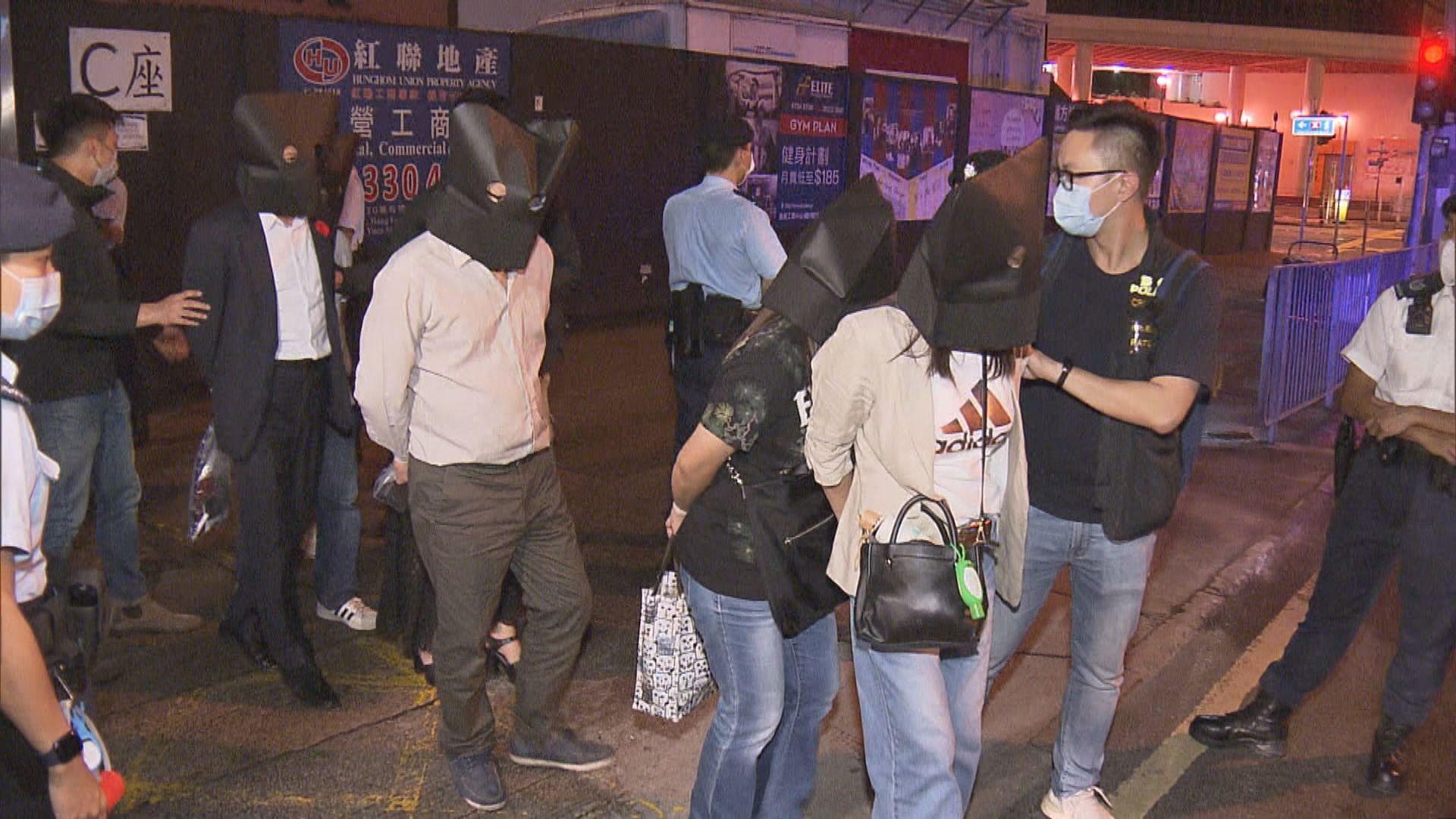 警紅磡工廈破無牌酒吧拘二十八男女