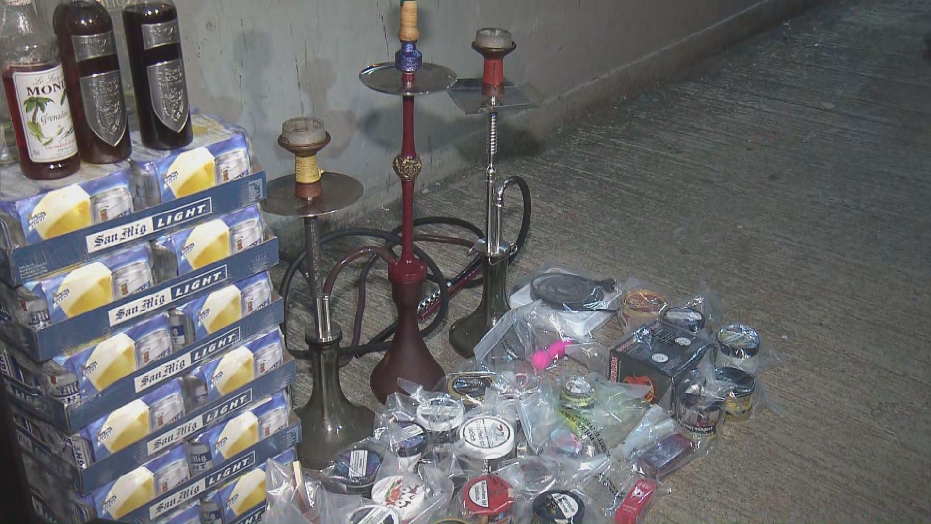 警方屯門破無牌酒吧及派對房間 拘捕27人