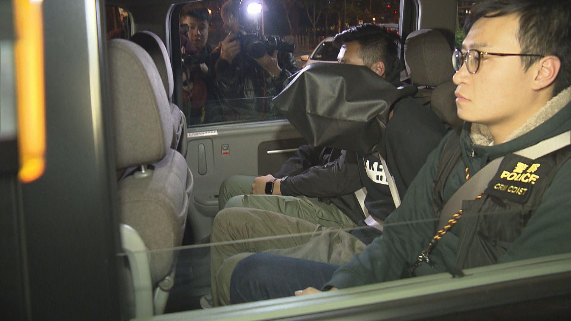 四男子涉勒索蘭桂坊商戶被捕