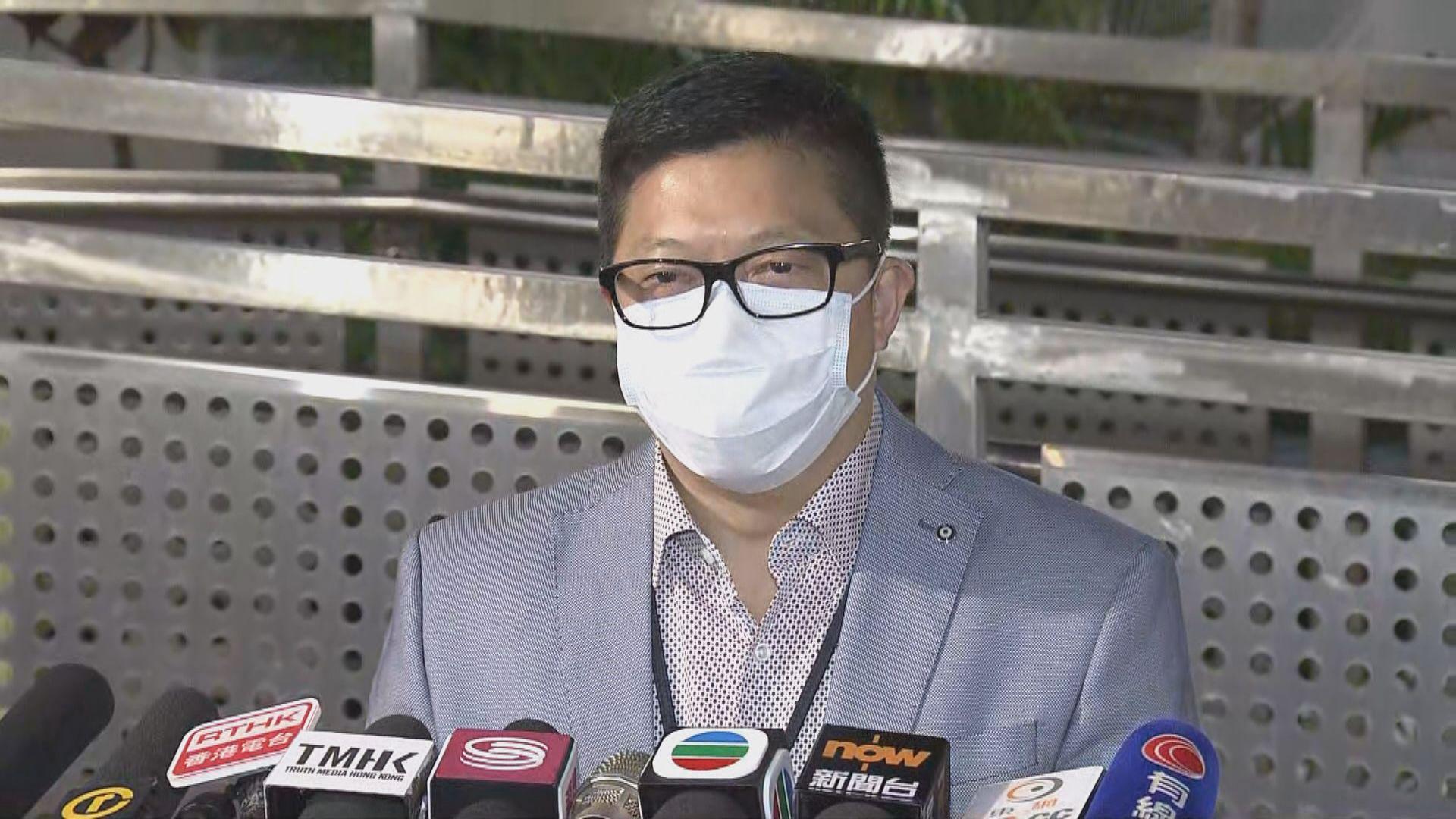鄧炳強:警方不會因涉案人士身分而懼怕執法