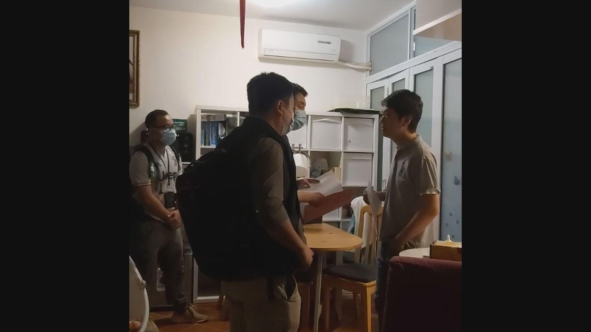 林卓廷涉721元朗暴動 許智峯涉屯門公園案被拘捕