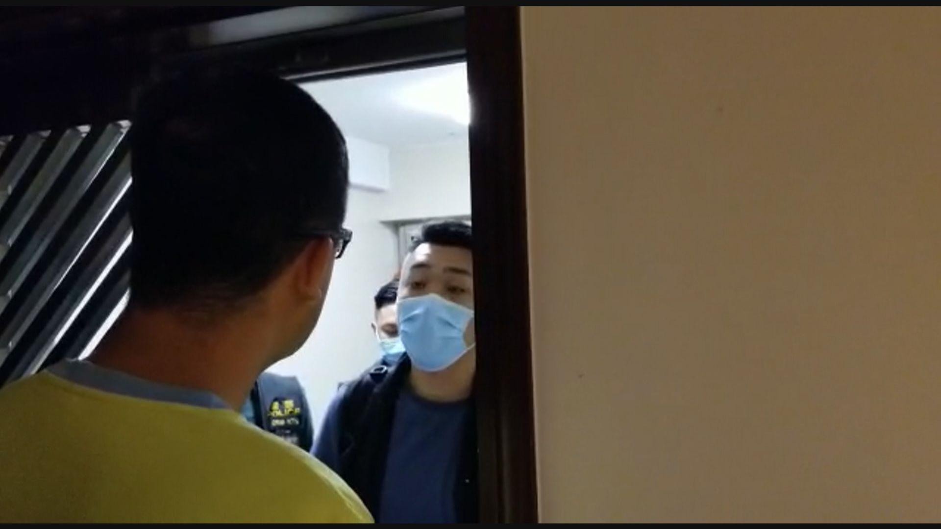 林卓廷被指涉去年721元朗參與暴動被捕遭上門拘捕