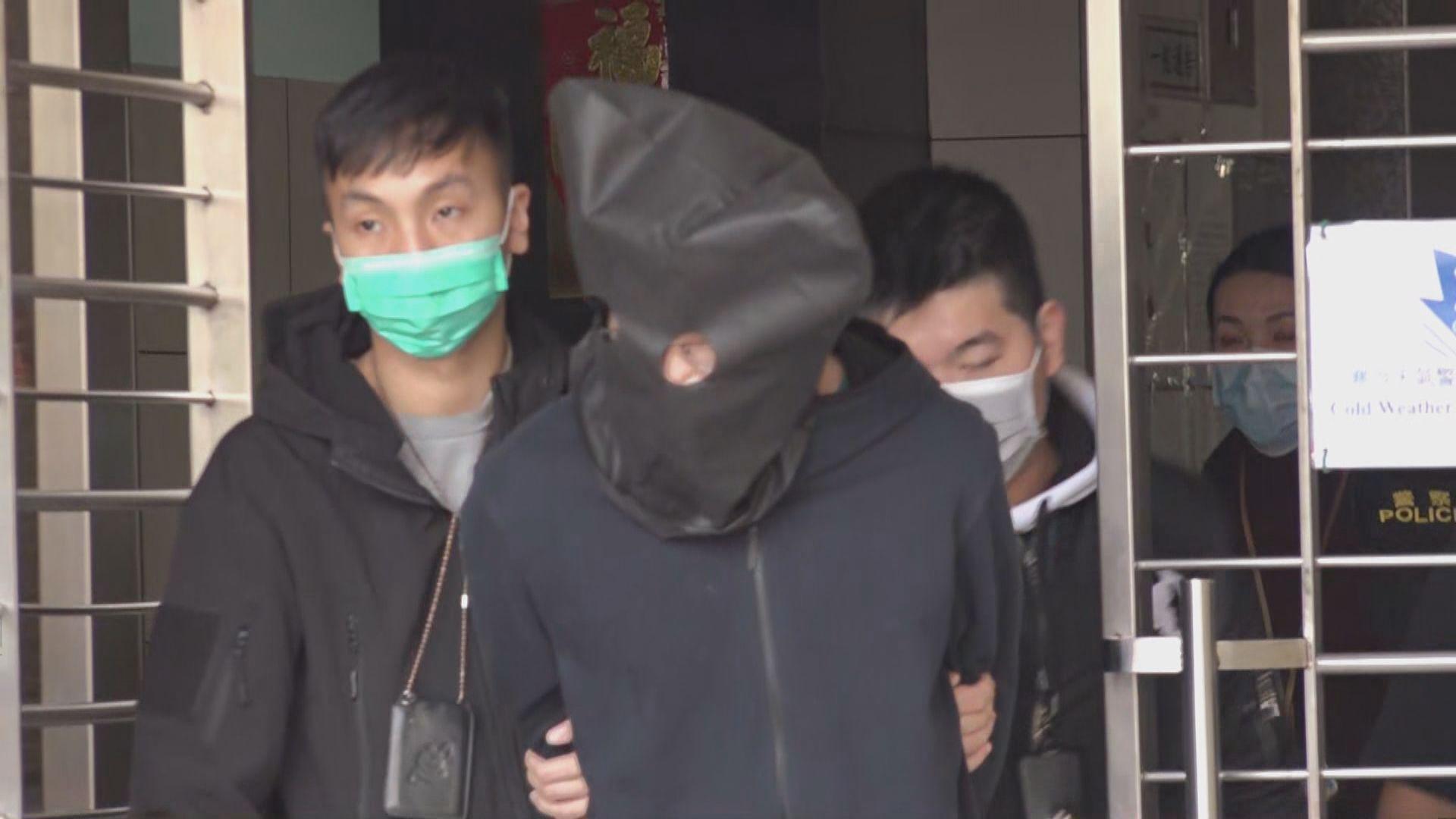 葵涌男子口罩倉庫外徘徊涉遊蕩被捕